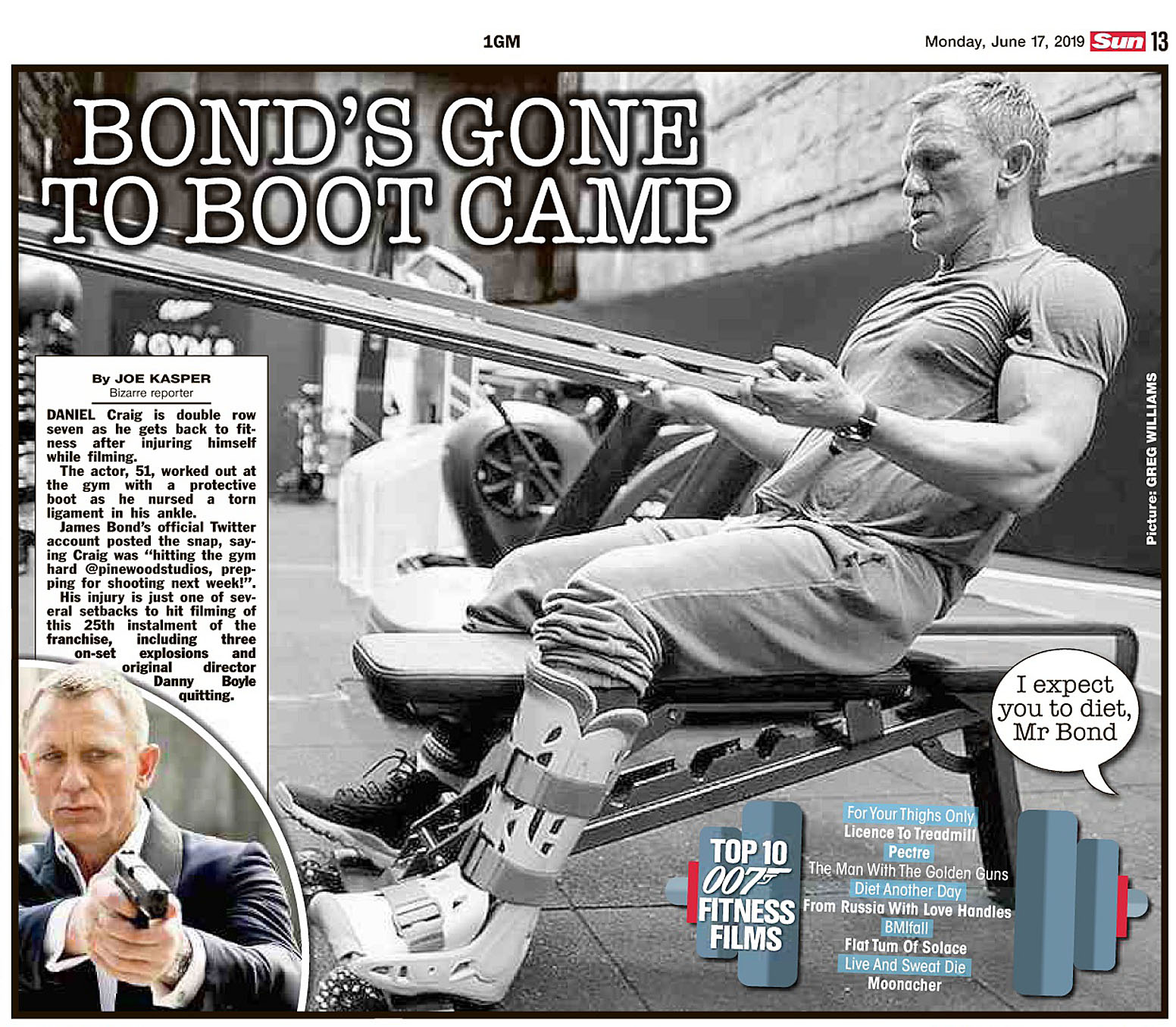 The Sun UK 17 June 2019 Bond.jpg