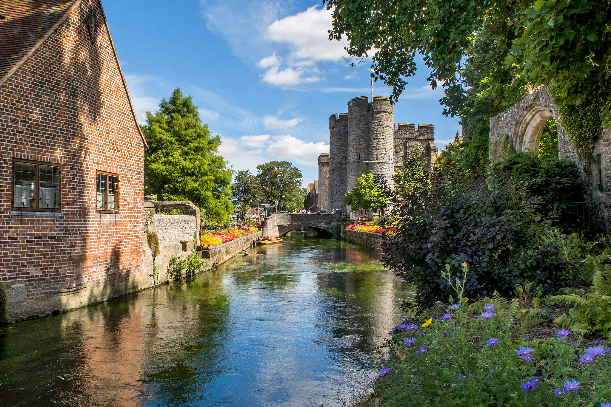 Canterbury Westgate Towers and gardens by Bill Learmonth.jpg