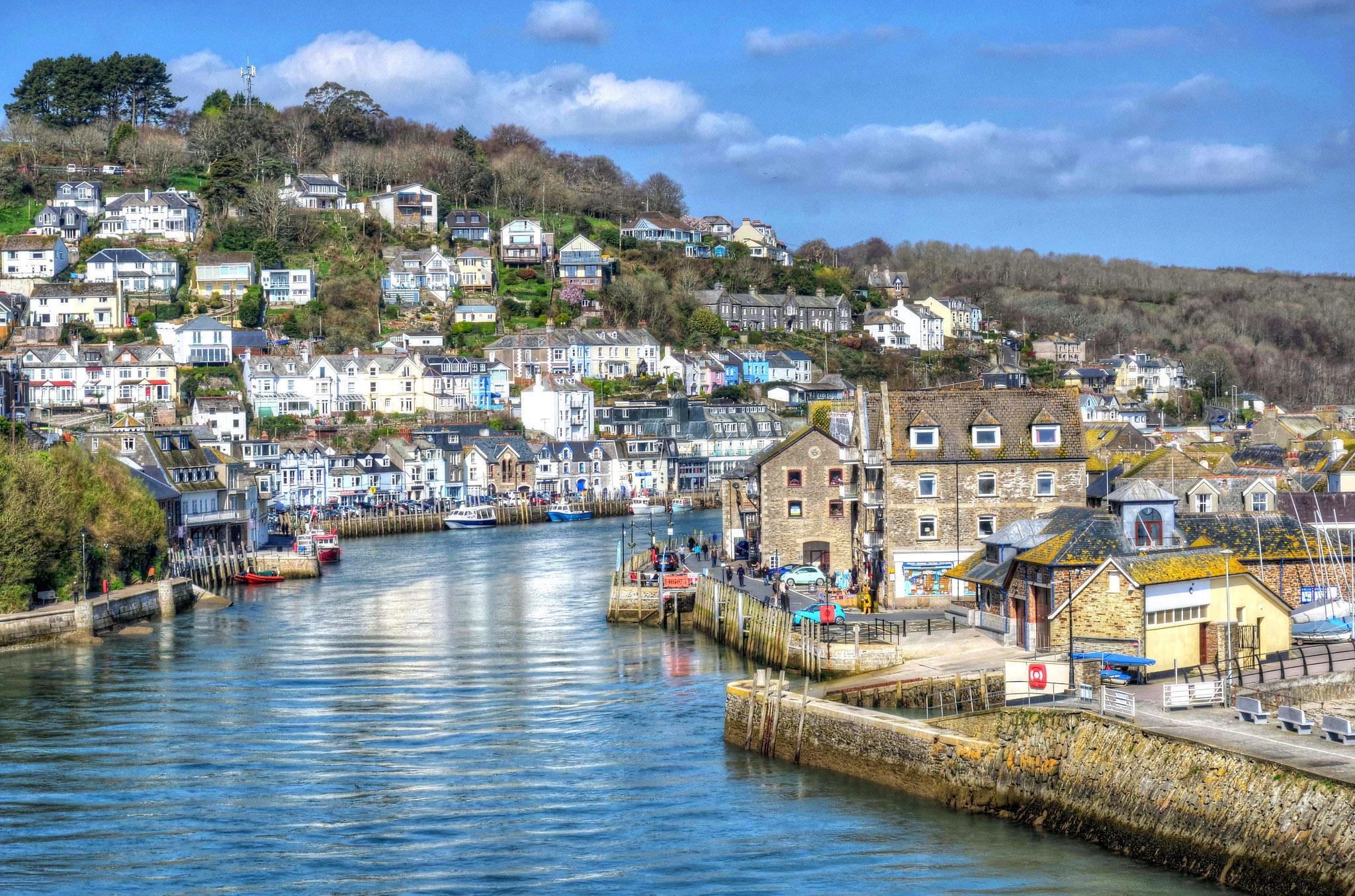 Reflections of Looe, Cornwall by Baz Richardson.jpg