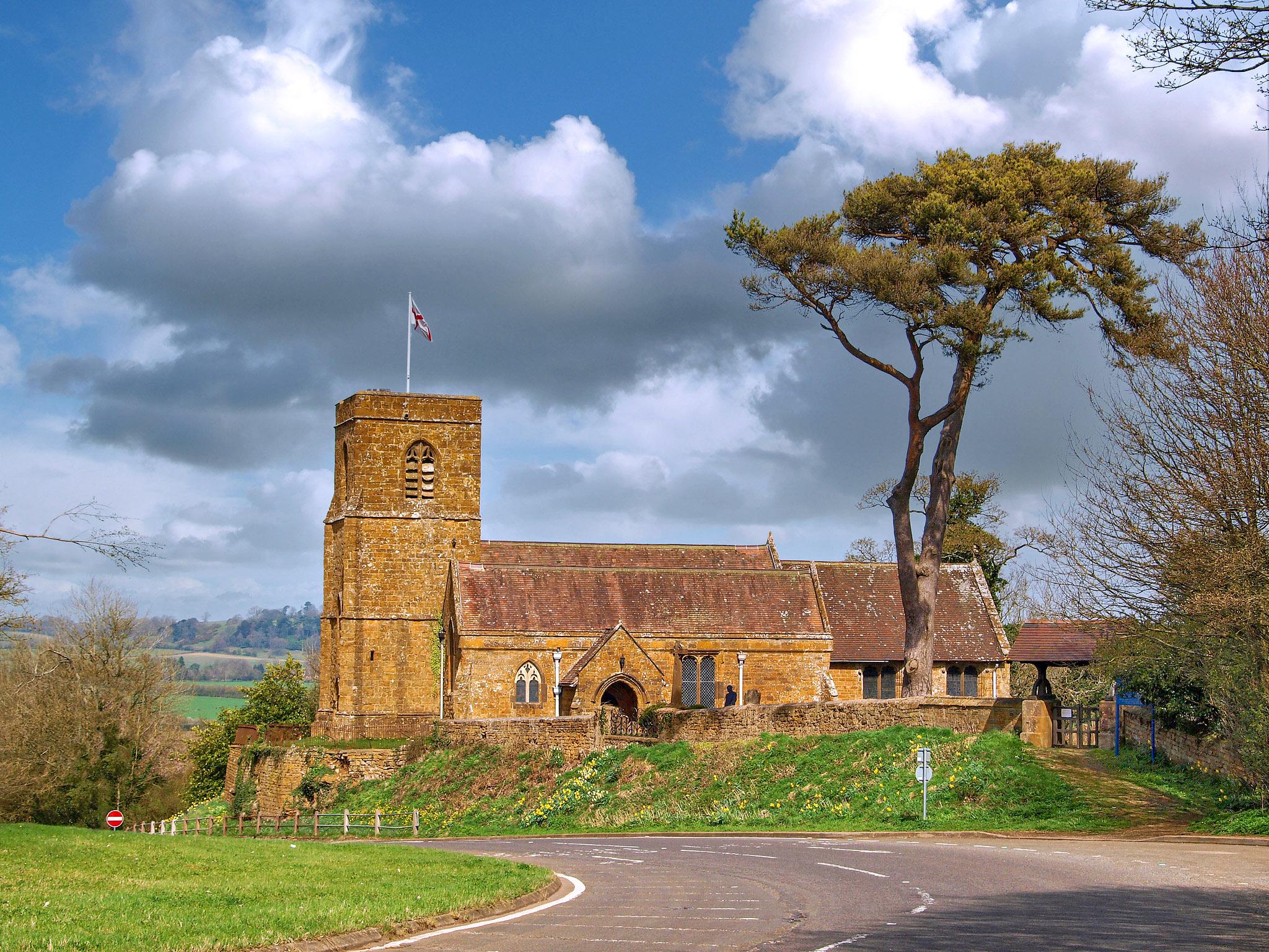 St Michael's Church, Warmington, Warwickshire by Andrew S Brown.jpg