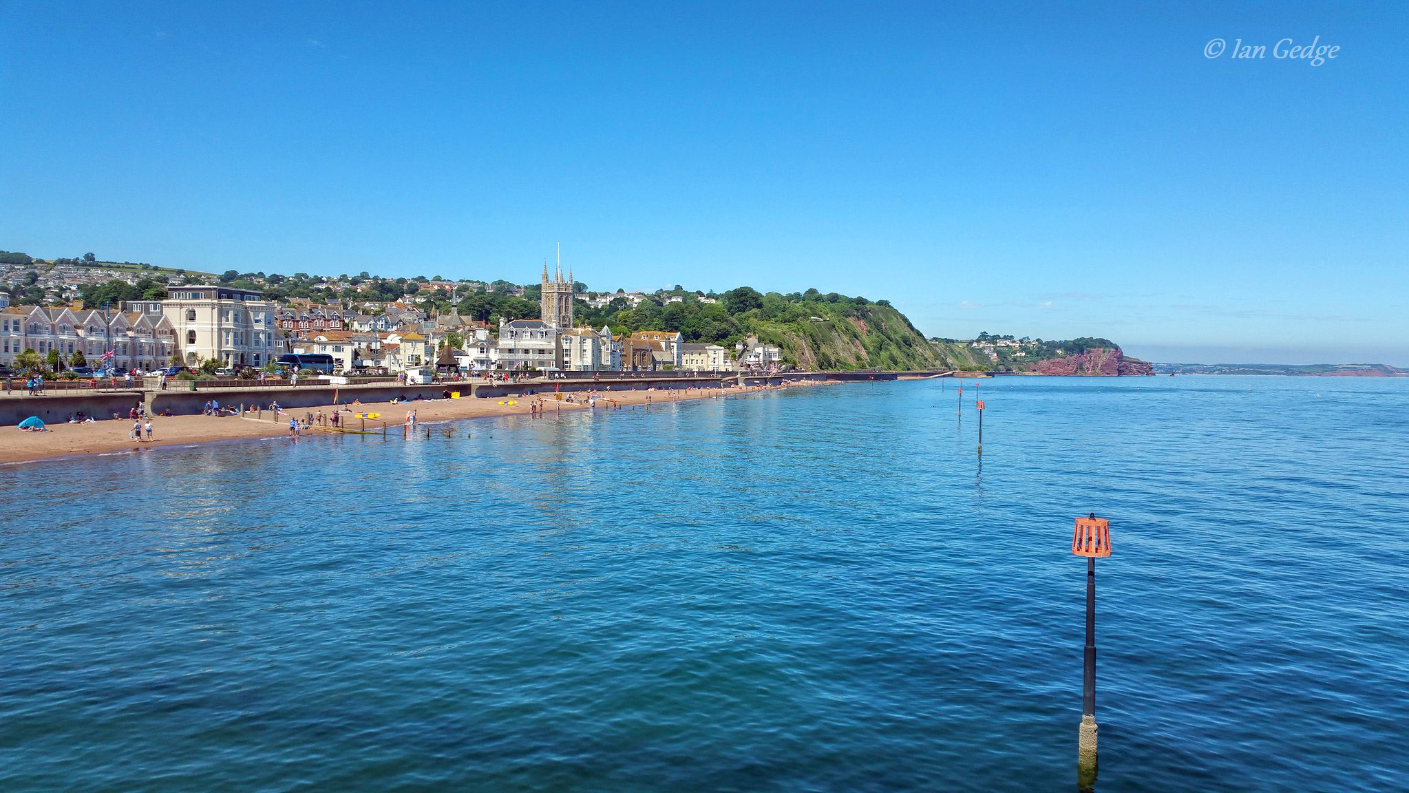 Teignmouth from the pier by Ian Gedge.jpg