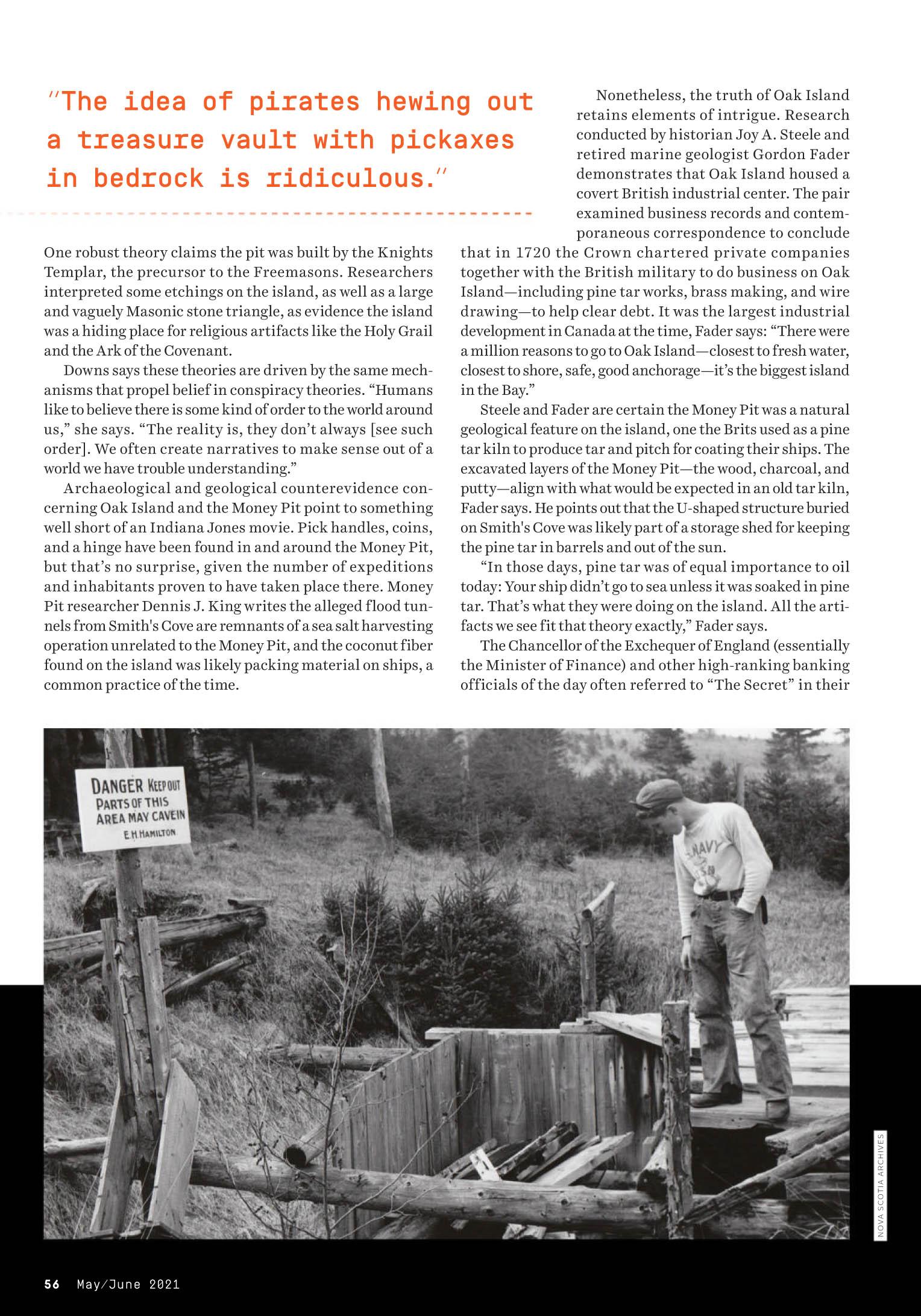 Popular Mechanics 2021-05-06 Oak Island 06.jpg