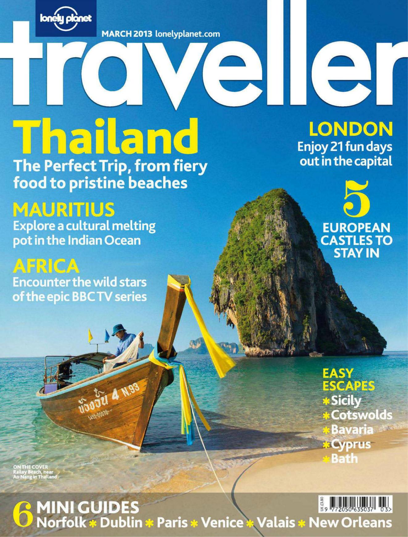 Lonely Planet Traveller UK 2013-03Thai-01.jpg