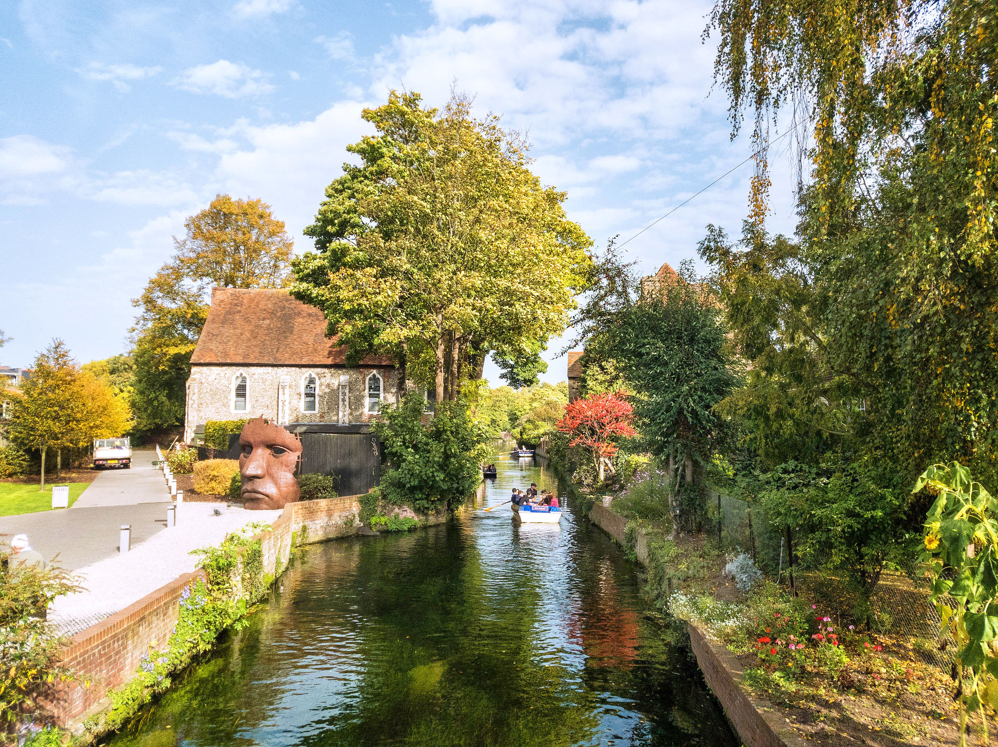 River Stour, Canterbury by Bill Learmonth.jpg