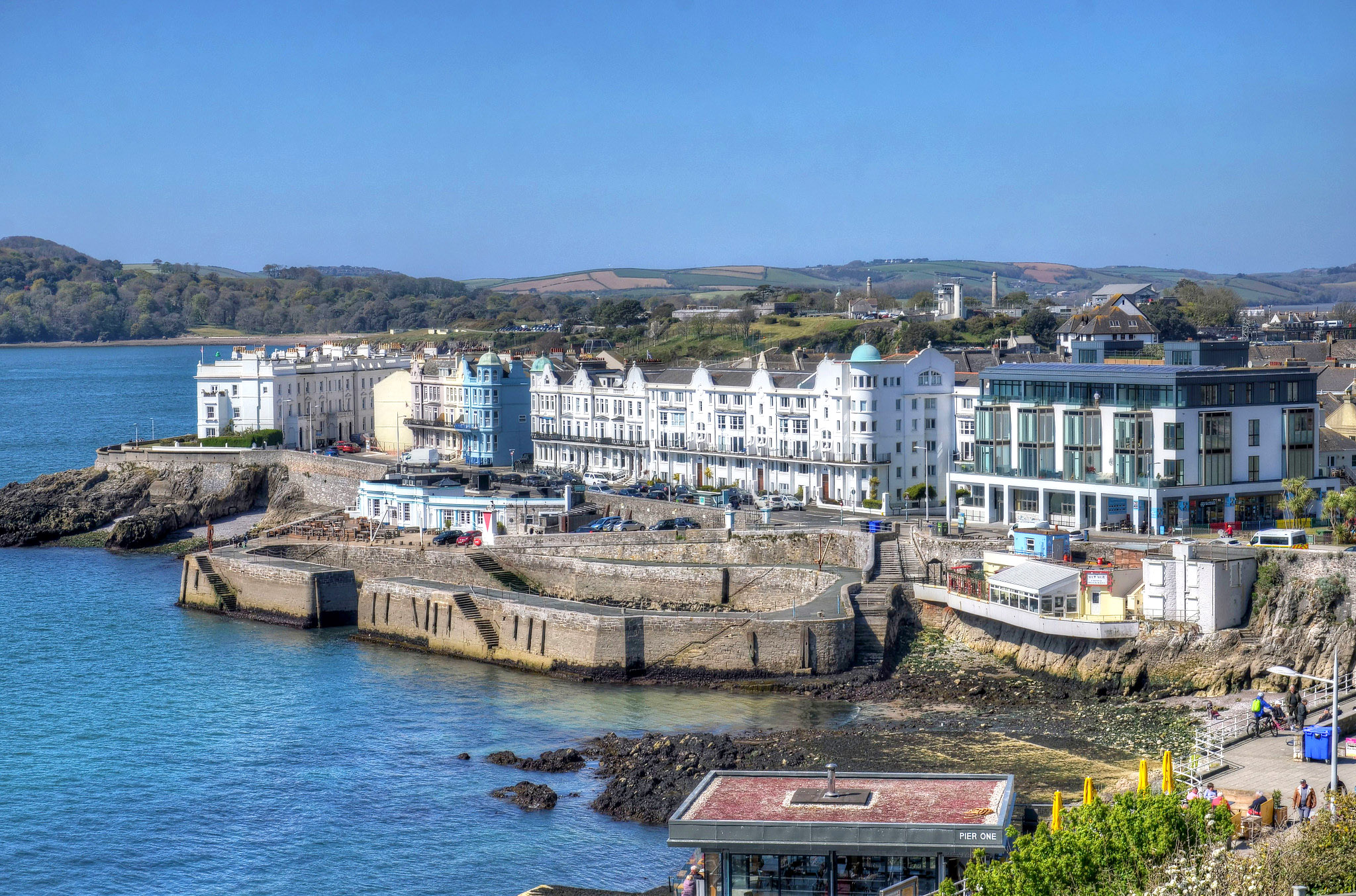 The West Hoe at Plymouth by Baz Richardson.jpg