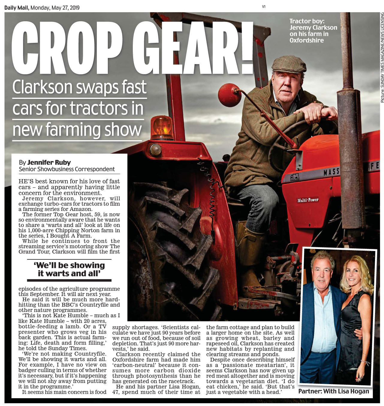 Daily Mail May 27 2019 Top Gear.jpg