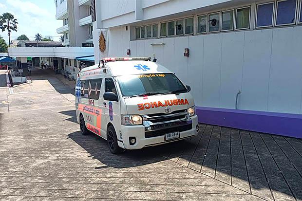 Ambulance at Satun Hospital.jpg