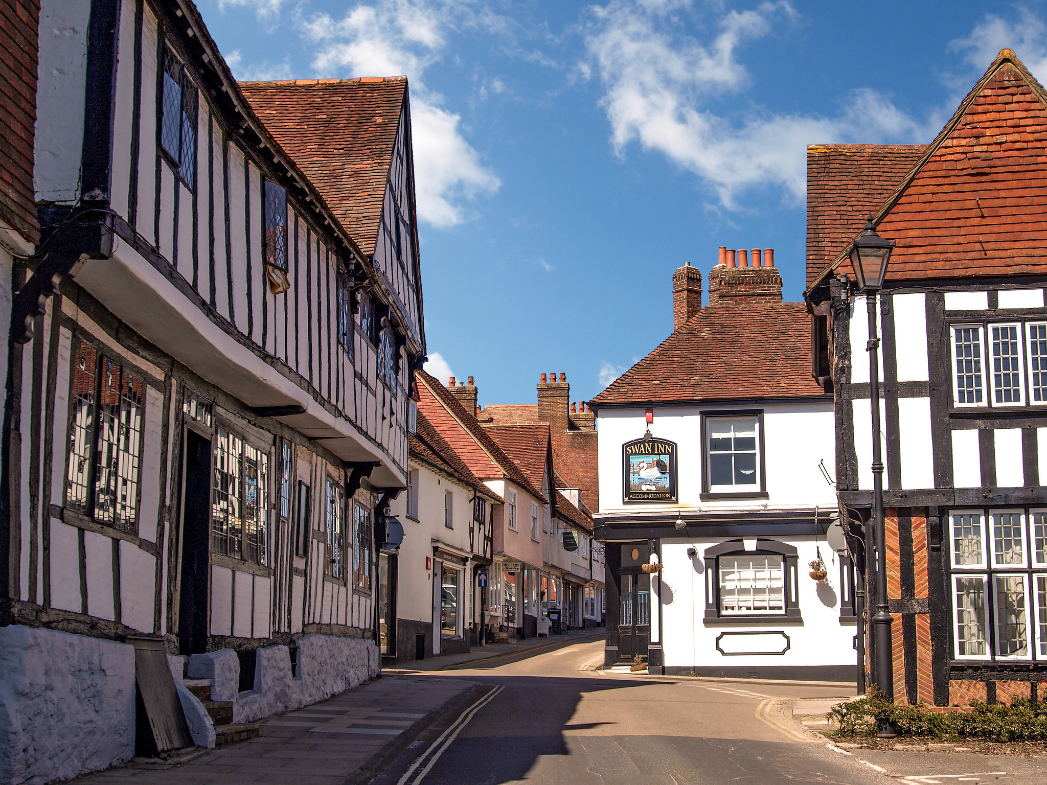 The centre of picturesque Midhurst in West Sussex by Andrew S Brown.jpg
