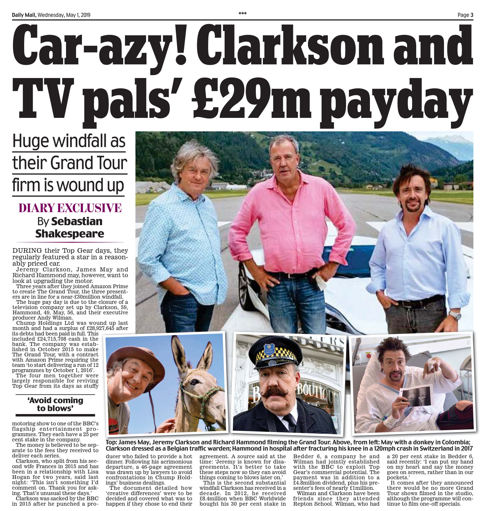 Daily Mail May 1 2019 Grand Tour.jpg