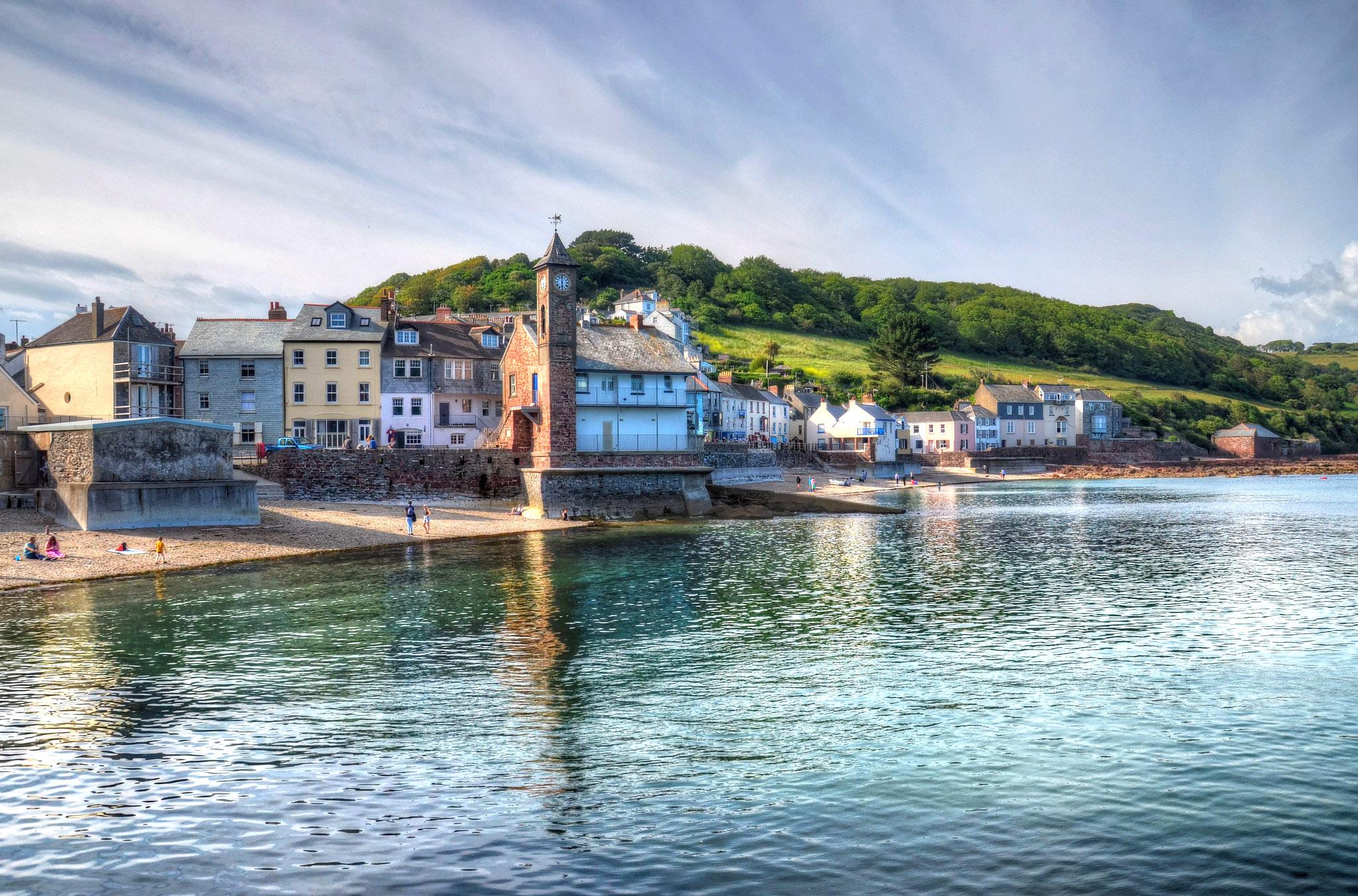 The village of Kingsand, Cornwall by Baz Richardson.jpg