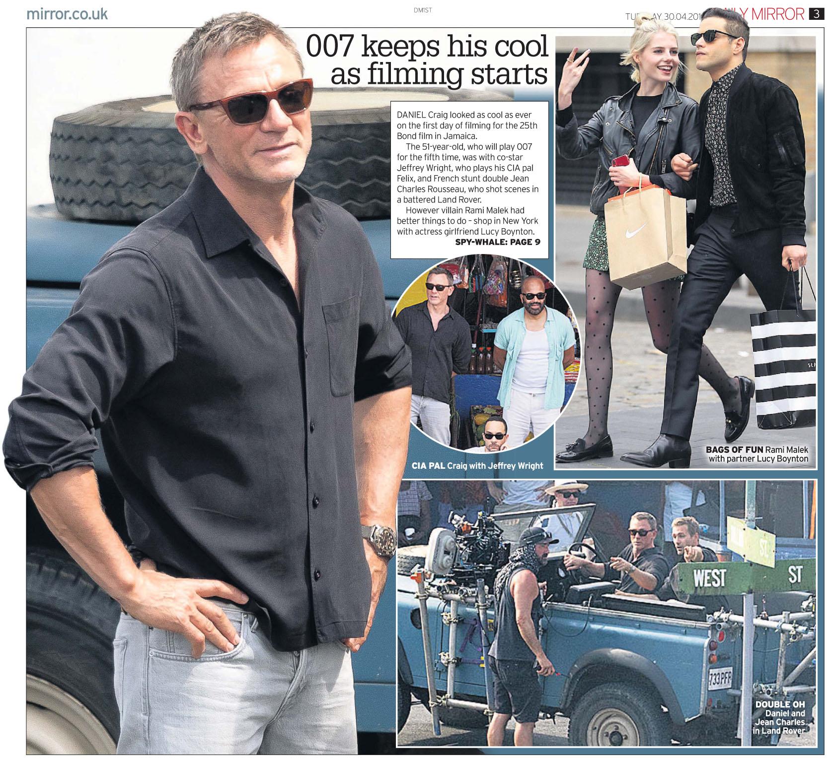 Daily Mirror April 30 2019 Bond.jpg