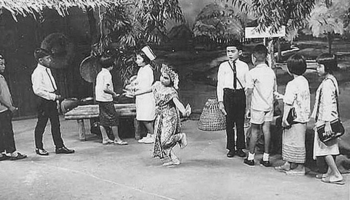 1966 TV Studio & Children preparing for program.jpg