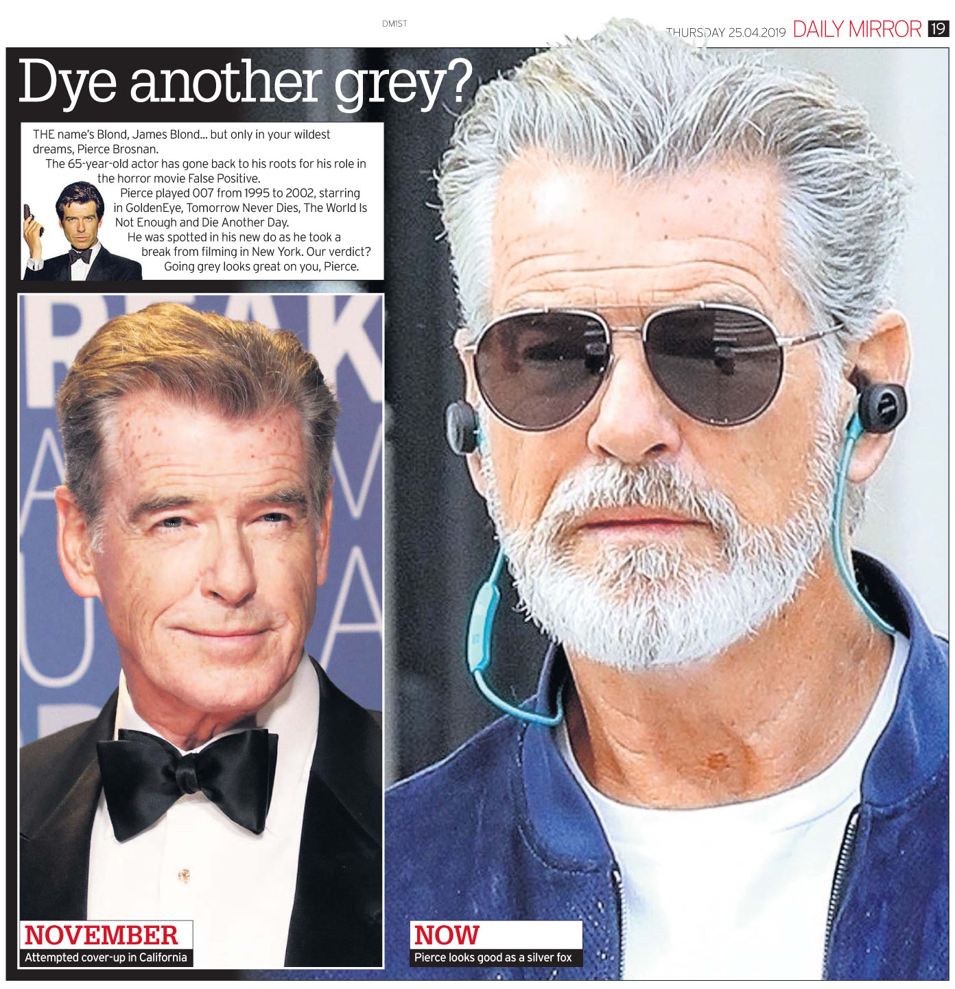 Daily Mirror April 25 2019 PBrosnan.jpg
