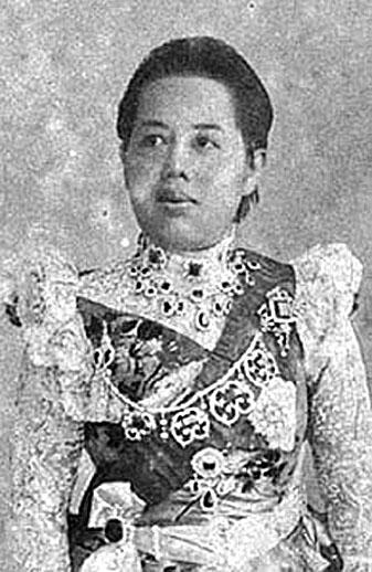 HM Queen Sri Bajarindra, The Regent Queen.jpg
