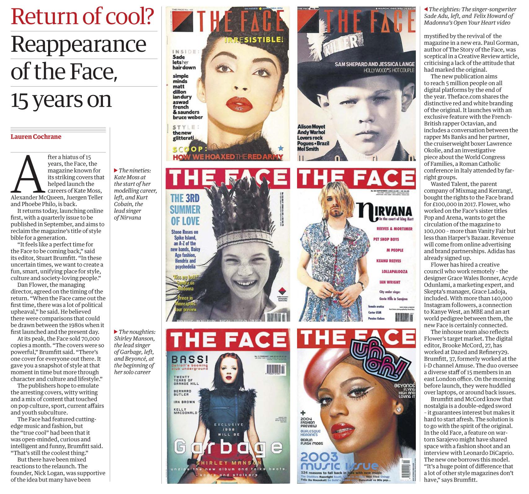 The Guardian April 17 2019 The Face.jpg