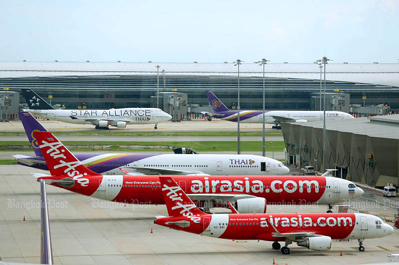 Thai Air Asia at Don Mueang.jpg