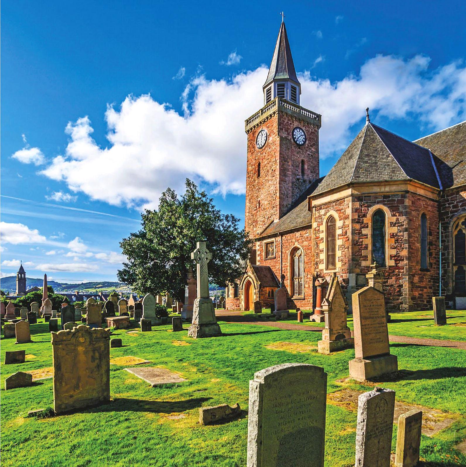 Old High St Stephen, Inverness, Scotland by Karol Kozlowski.jpg