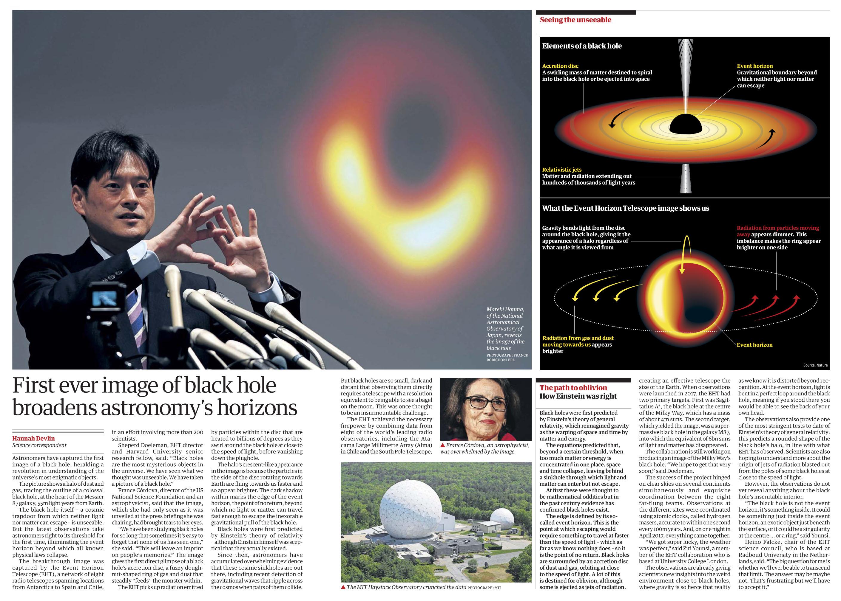 The Guardian April 11 2019 Black Hole.jpg