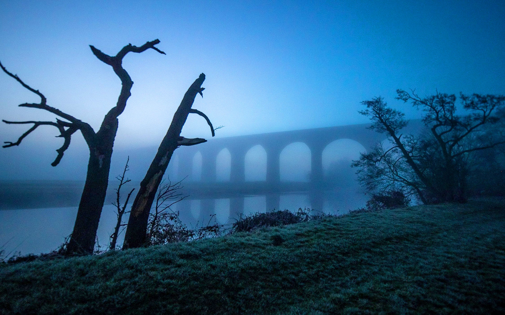 Arthington Viaduct between West Yorkshire and North Yorkshire by Charlotte Graham.jpg
