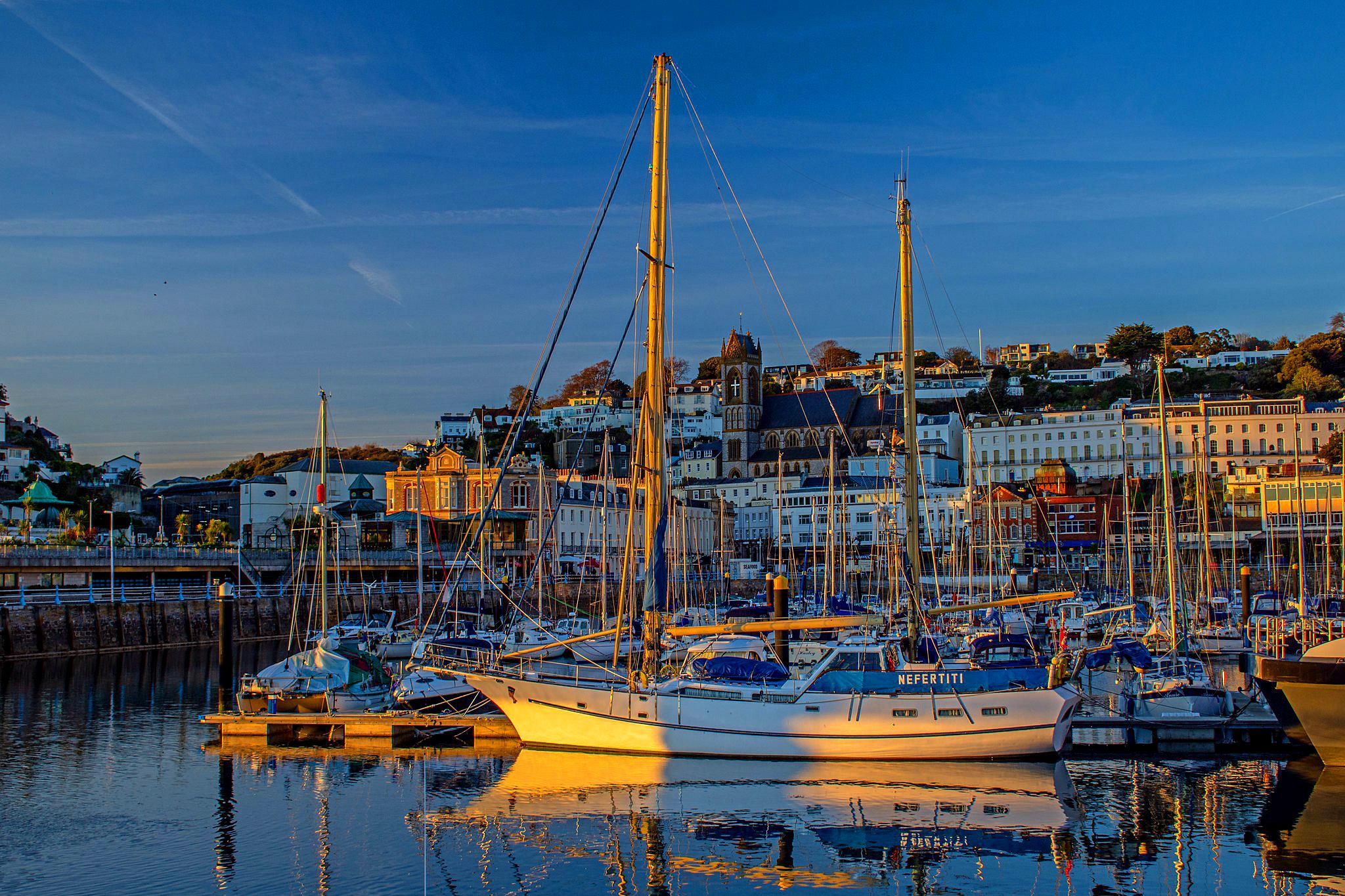 Harbour view, Torbay by Bryan Sawyer.jpg
