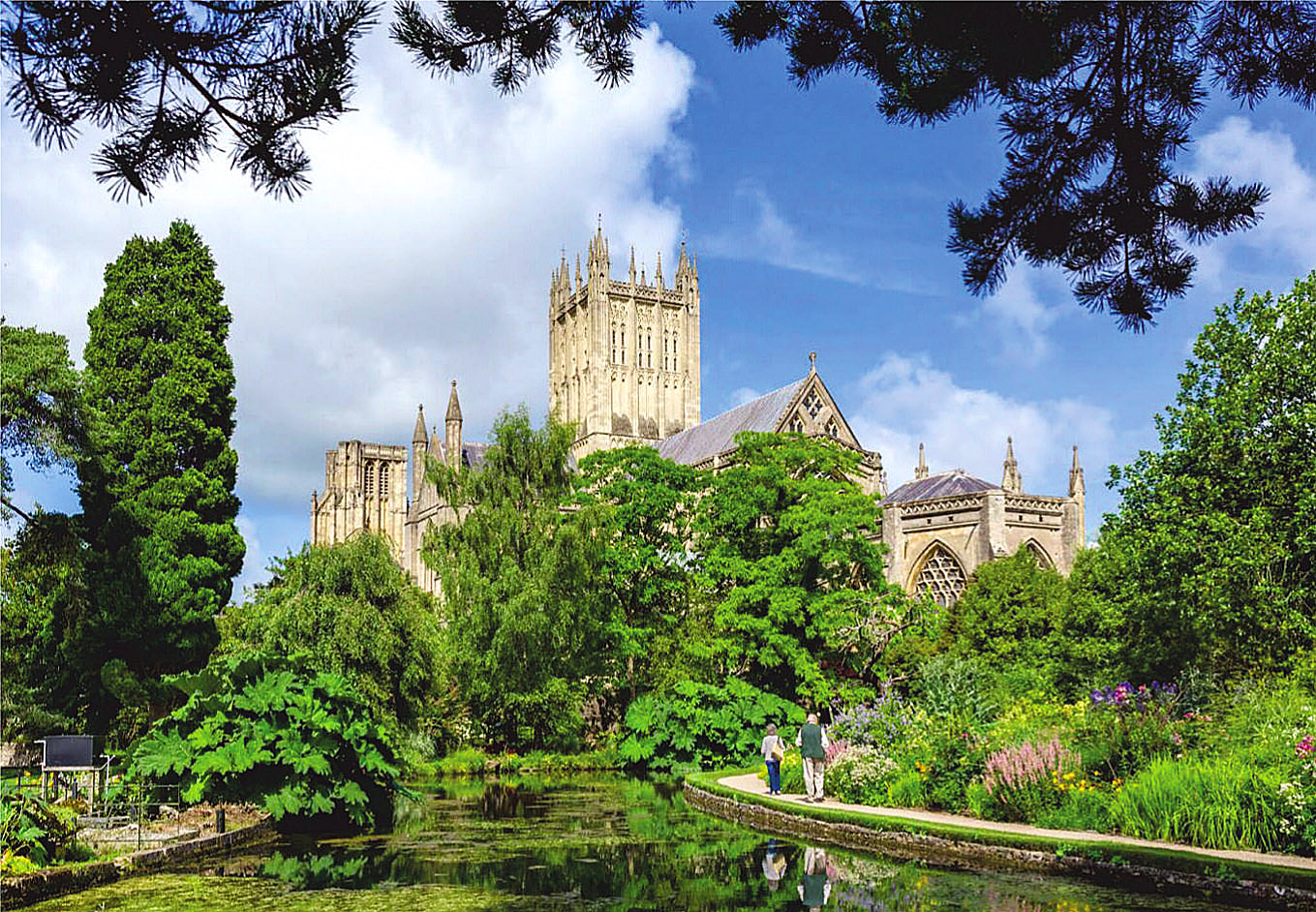 Wells Cathedral, Somerset by Ian Gagnall.jpg