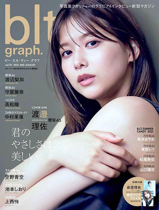 У газетного киоска Risa Watanabe S46 BLT Graph 2108.jpg