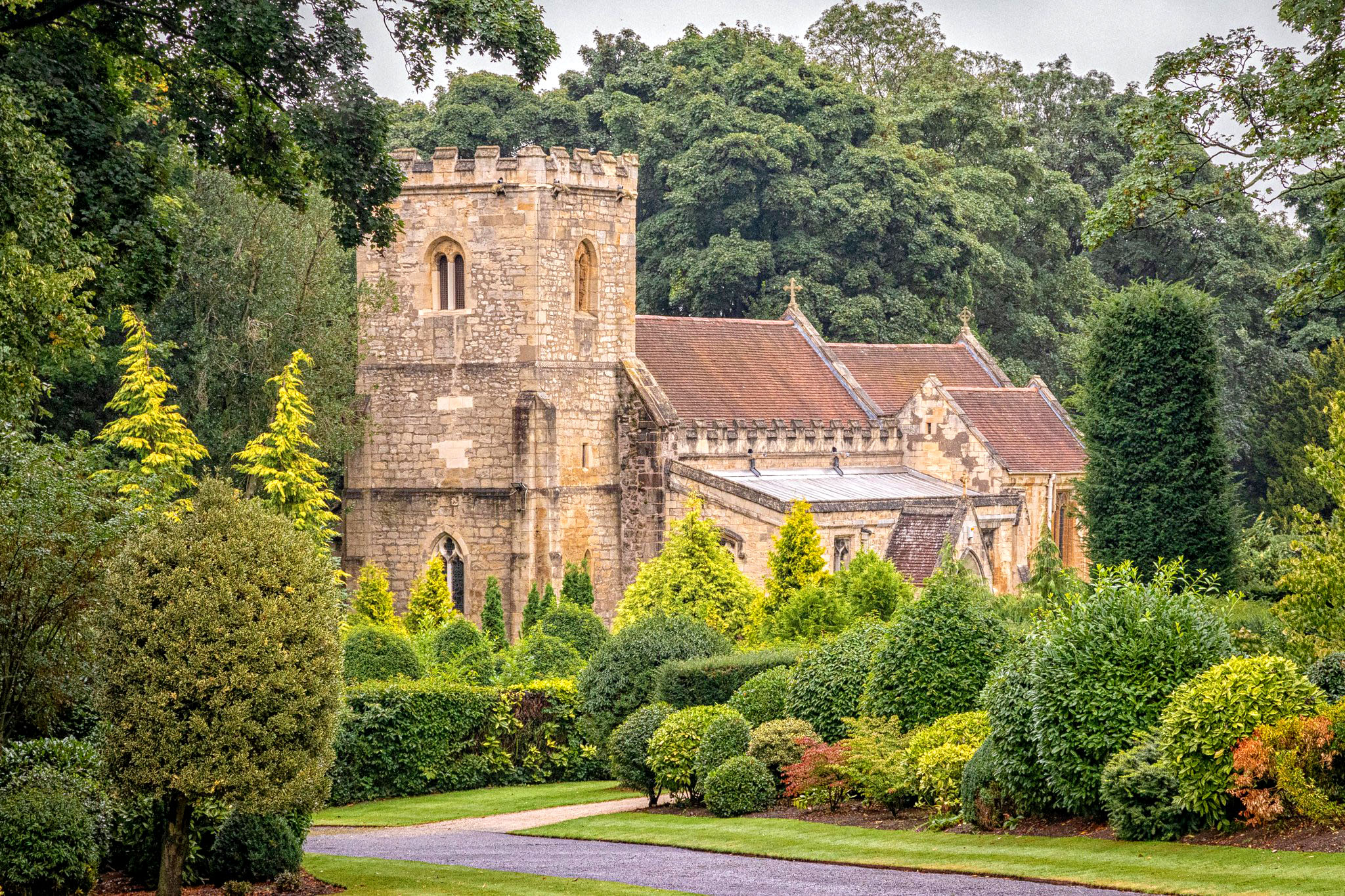 Brodsworth Church by Carol Hall.jpg