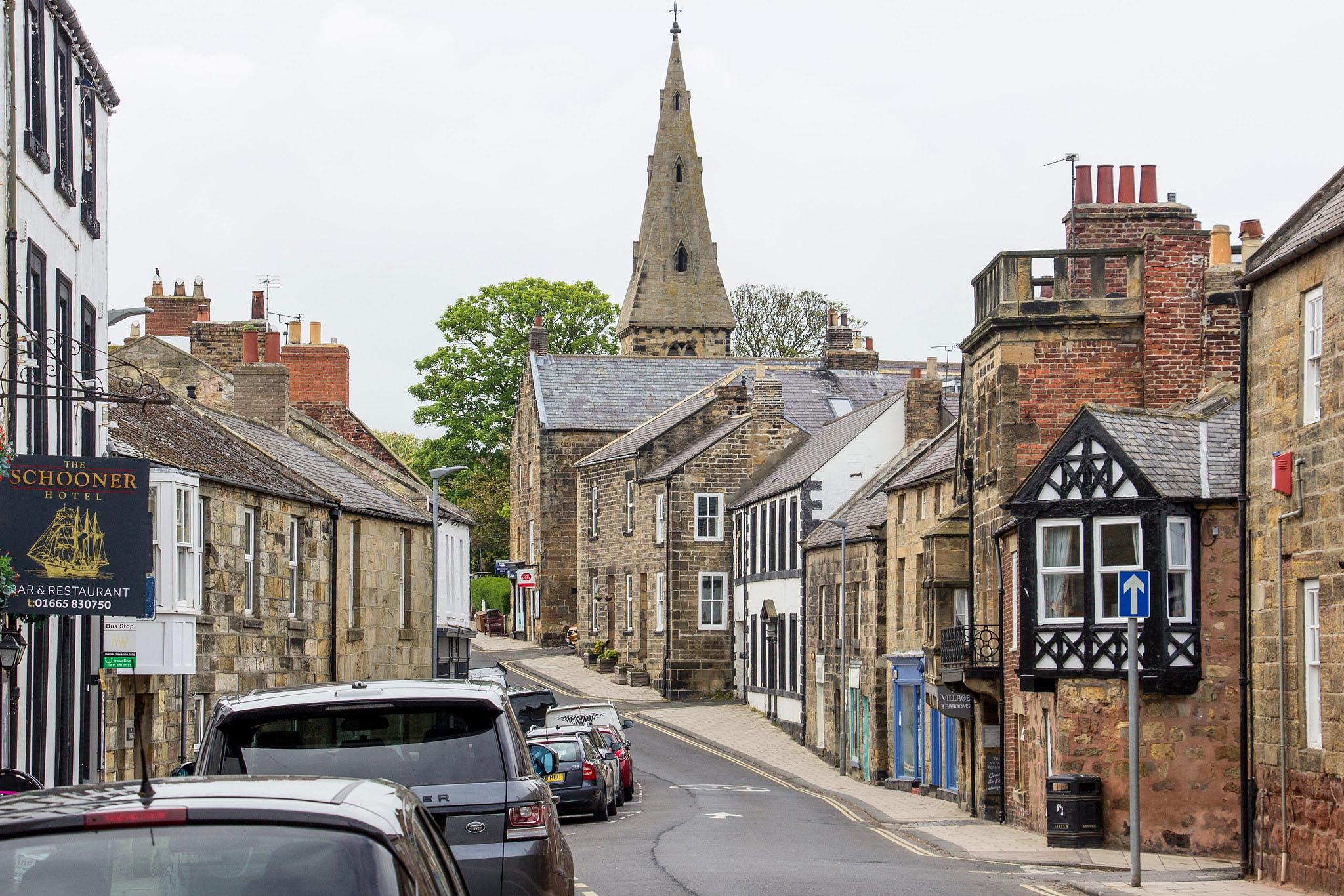 Northumberland Street, Alnmouth by Billy Wilson.jpg