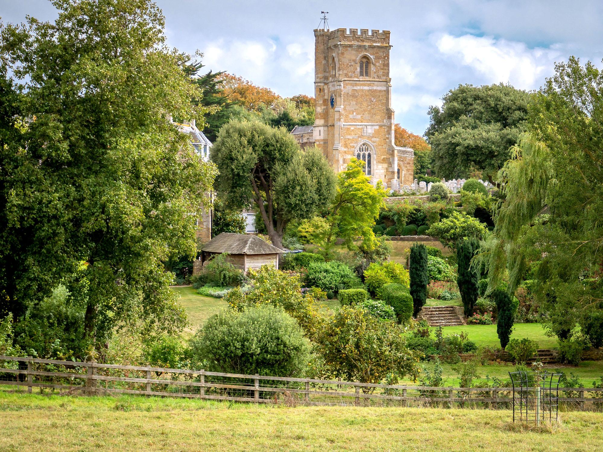 St Nicholas, Abbotsbury, Dorset by Bob Radlinski.jpg