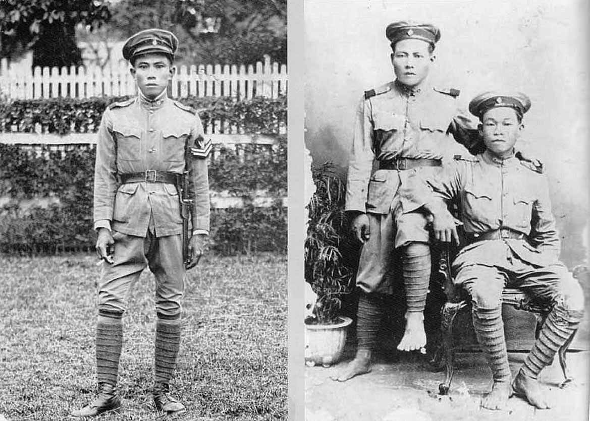 1904 Lanna {CM} Police of the early 20th century.jpg