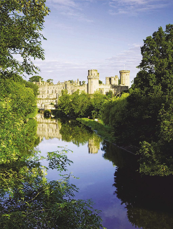Warwick Castle, River Avon, South Warwickshire.jpg