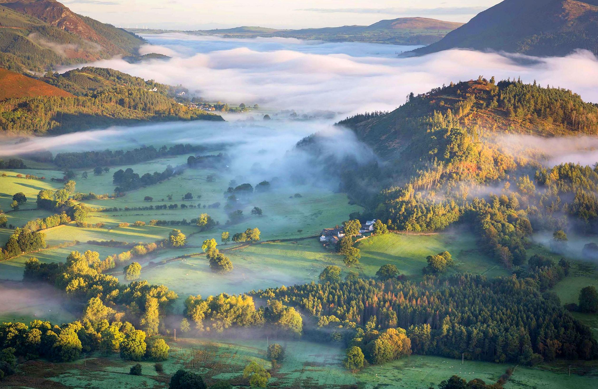 Newlands Valley, Swinside and Bassenthwaite at dawn, Lake District by Stewart Smith.jpg