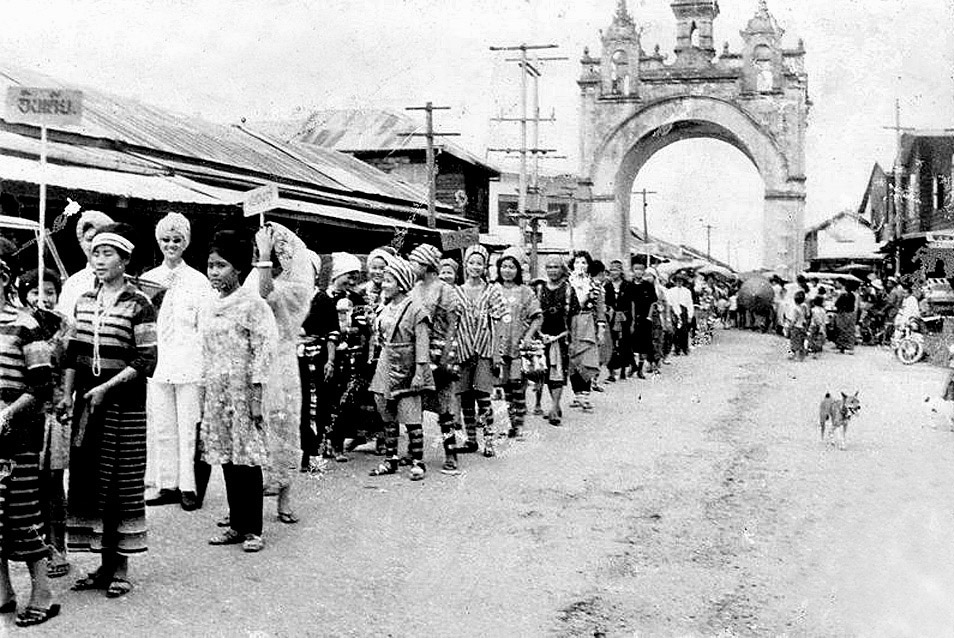 1964 Ethnic celebratory parade, Nakhon Phanom.jpg