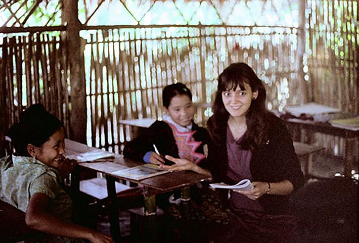 1982 Teacher at the Ban Thong Chiang Khong Refugee Camp - Chiang Rai.jpg