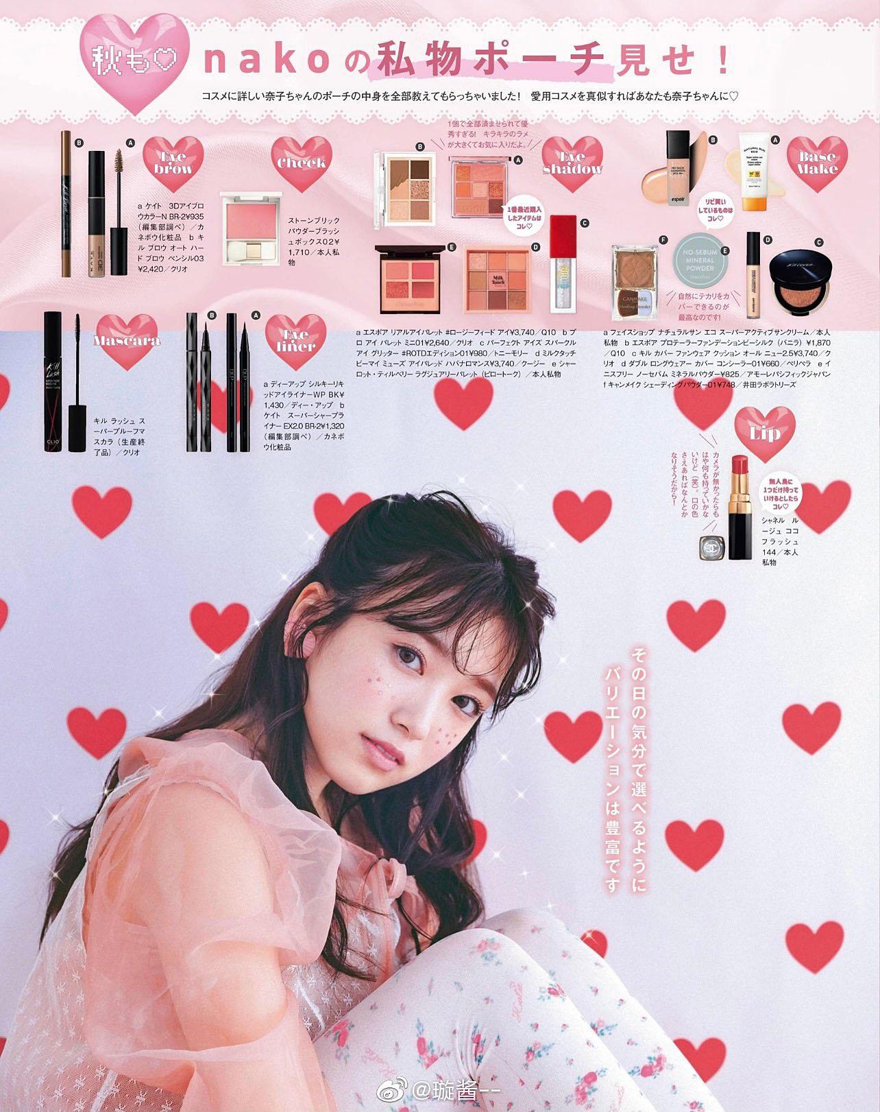 Nako Yabuki HKT48 Larme 50 2021 04.jpg