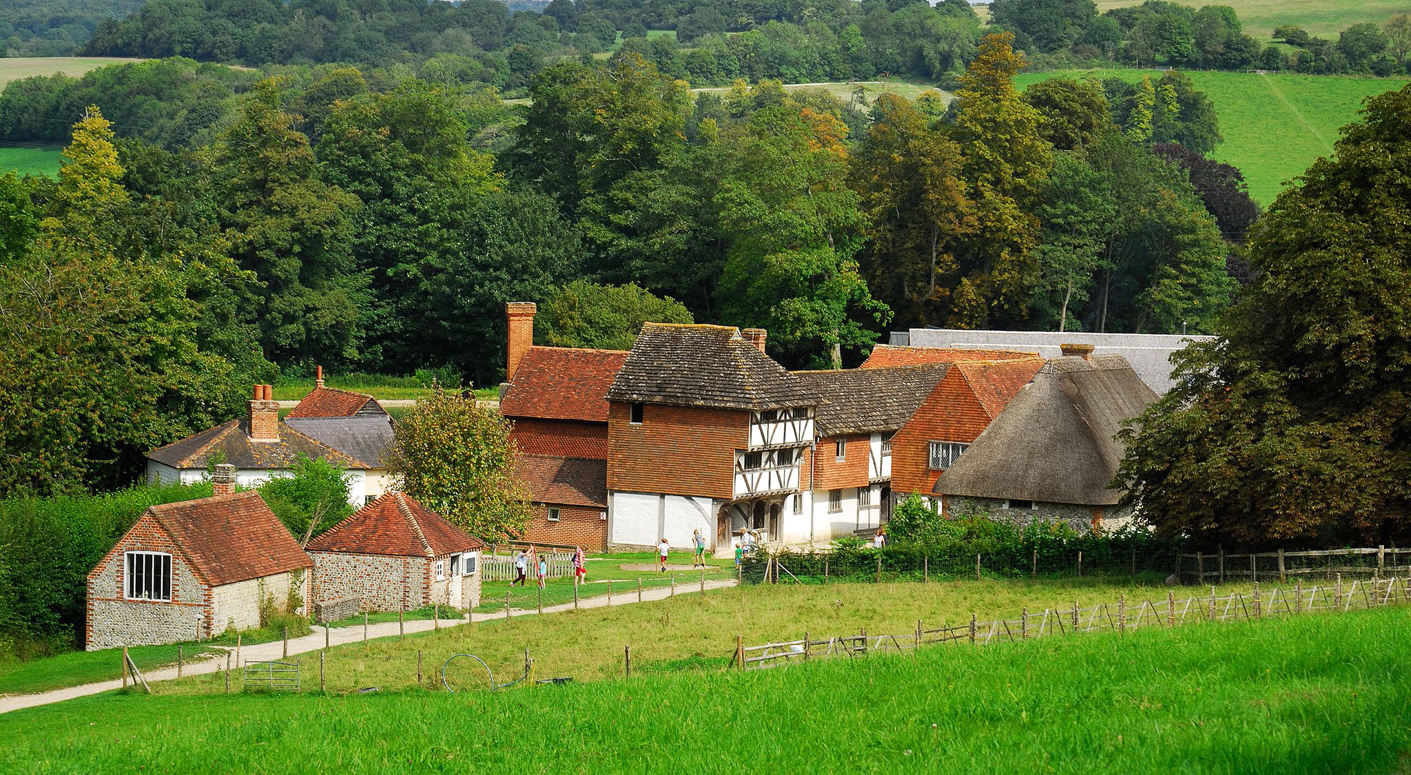 Building collection at the Weald and Downland Museum, Singleton by Puckpics.jpg