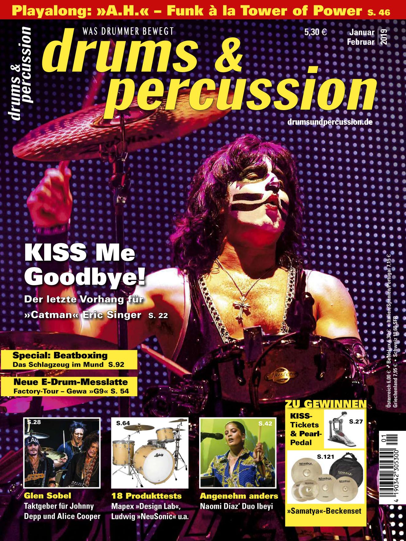 Drums & Percussion 2019-01-02 Kiss1.jpg