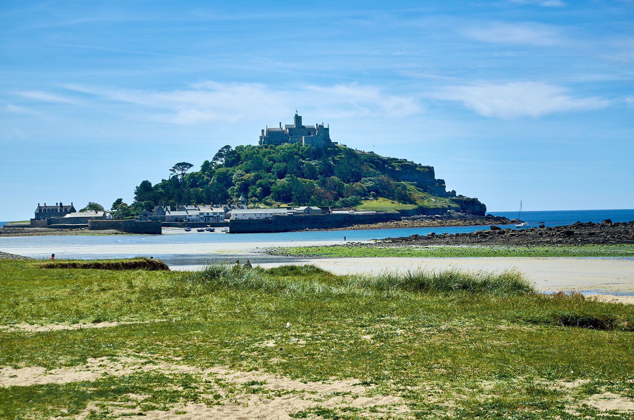 St Michael's Mount, Cornwall by Colin Grant.jpg