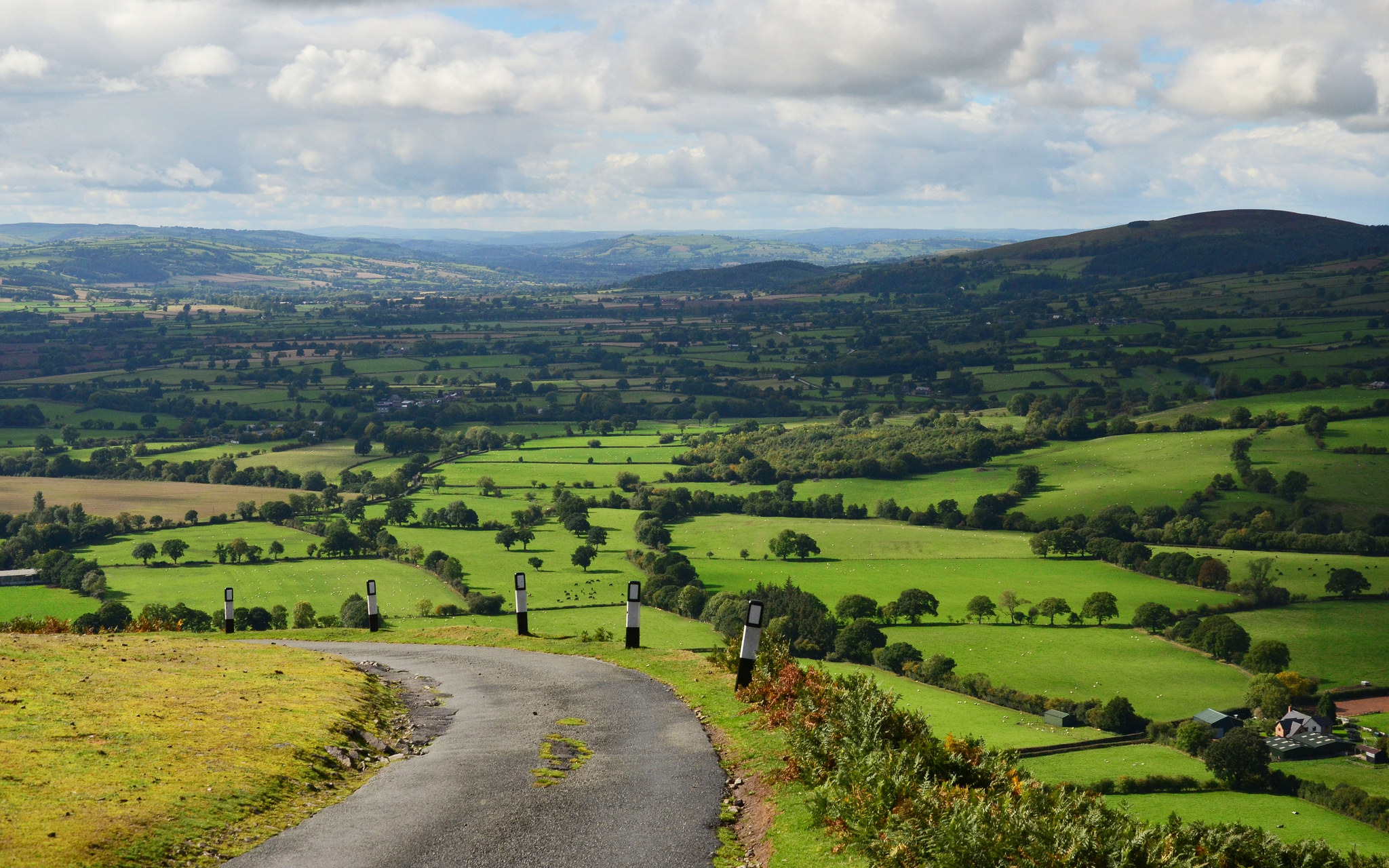 The south-west Shropshire countryside by Baz Richardson.jpg