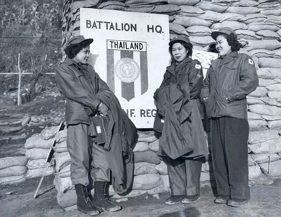 1953 Thai Red Cross attachment to Korean War.jpg