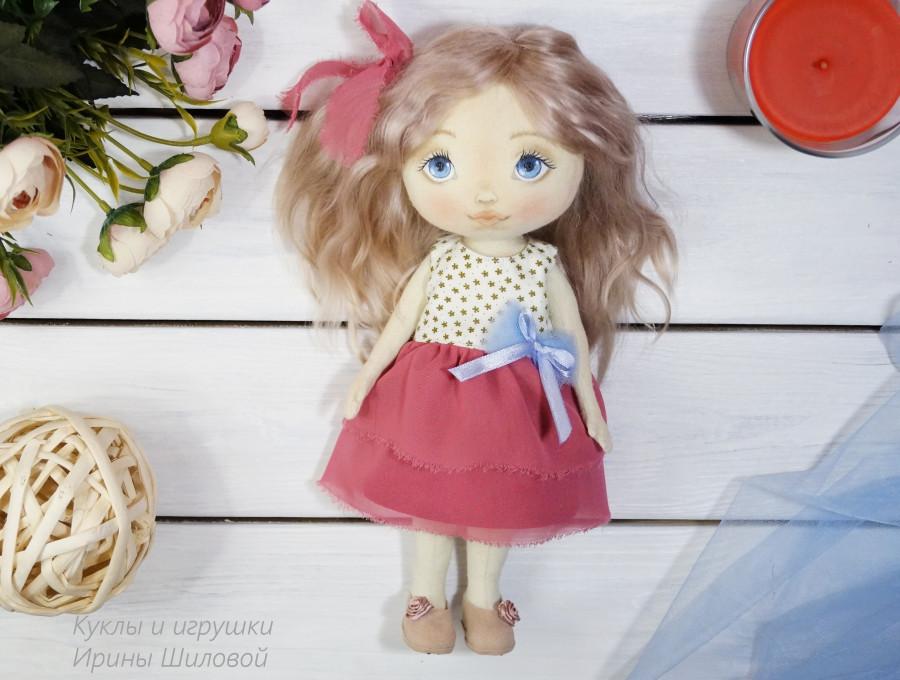 текстильная кукла на заказ