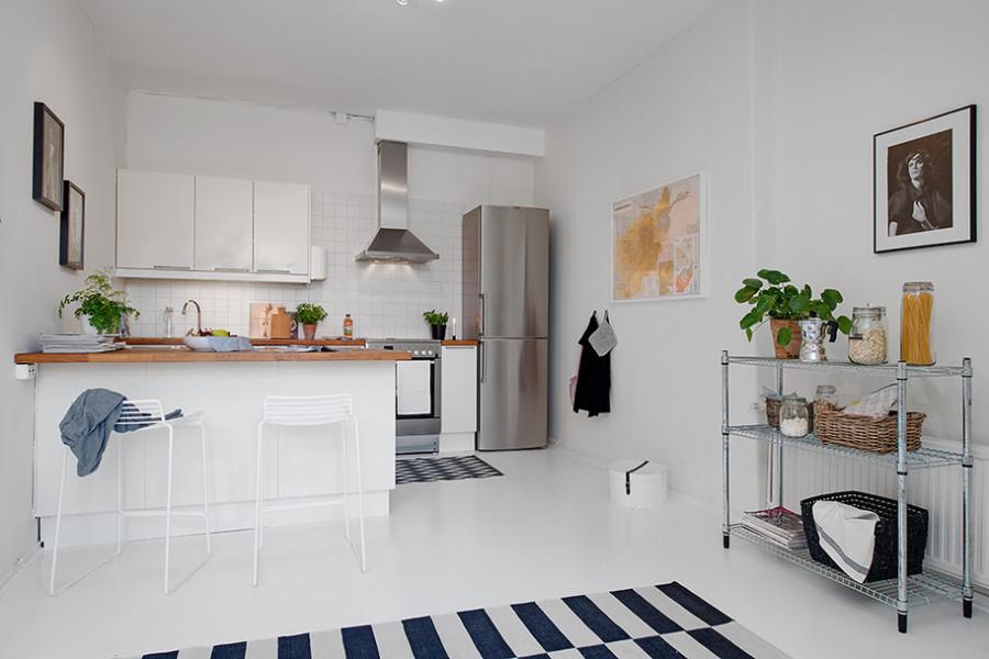Однокомнатная квартира в Швеции