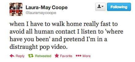 LMC pop video tweet