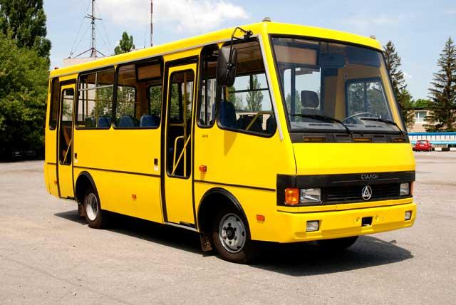 БАЗ А 079, українська маршрутка