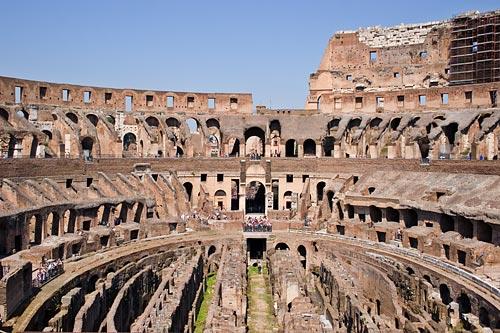 Римский Колизей начнут реставрировать в начале декабря