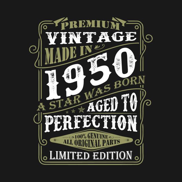 Premium Vintage Made 1950