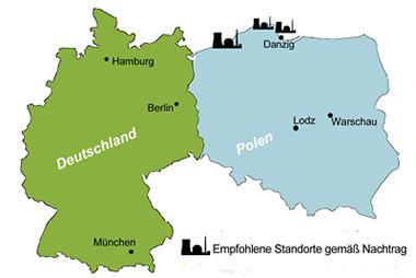 Atomkarte Polen Nachtrag