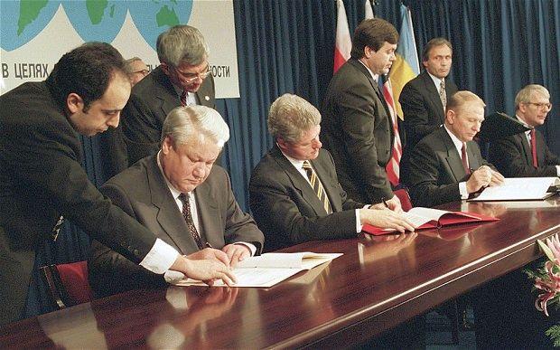 Будапештский меморандум. 1994