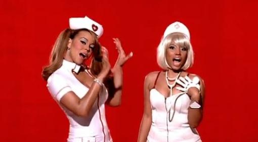 mariah-carey-nicki-minaj-idol-clash