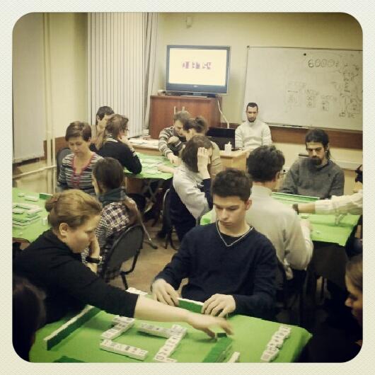 Декабрьский турнир по маджонгу